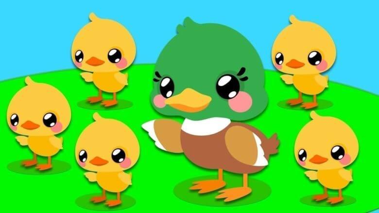 Beş Küçük Ördek – Çocuk Şarkısı – Sayıları Öğreniyorum