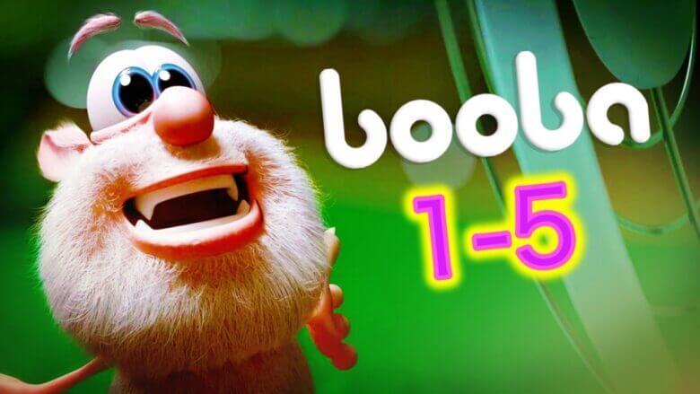 Booba – 5 bölümün hepsi – Çocuklar için çizgi filmler