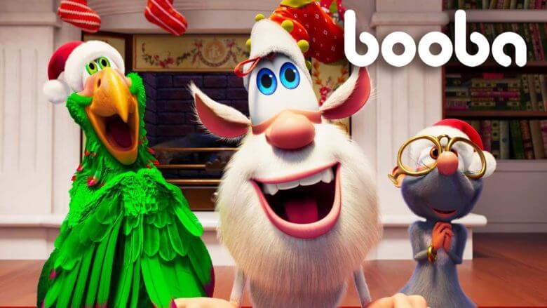 Booba 🎄 Noel ağacı🎄 Yeni bölümler 💛 Derleme En ilginç 💜 Eğlenceli çizgi filmler