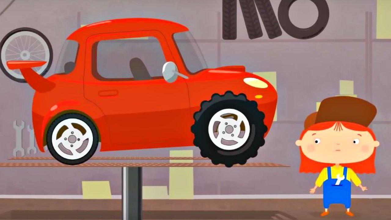 Çizgi film – Doktor Mac Wheelie – Kırmızı araba – Türkçe dublaj