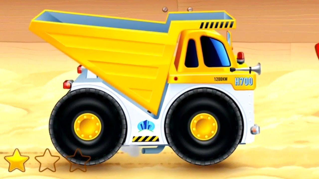 Çizgi Film iş makineleri – Maden kamyonu