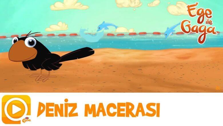 EGE İLE GAGA   DENİZ MACERASI   TRT ÇOCUK