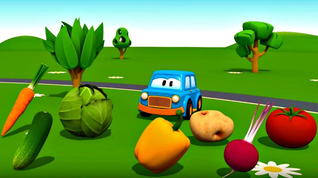 Eğitici çizgi film – Akıllı arabalar – Geometrik şekiller ve renkler
