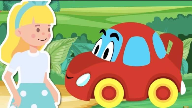 Kırmızı Araba Nerdesin? – Renkleri Öğreniyorum – Eğlenceli Çocuk Şarkısı