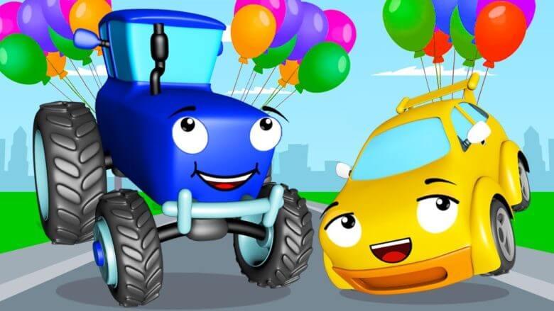 Mavi Traktör