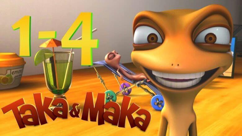 Taka&Maka – 4 bölümün hepsi – komik videolar