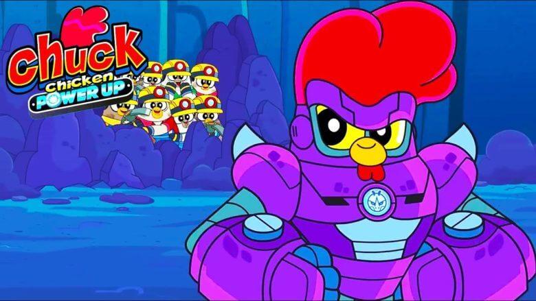 Tavuk Chuck – Gücünün Zirvesinde – Altına Hücum – Süper kahraman çizgi filmleri