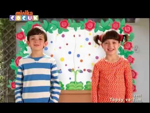 Topsy and Tim Türkçe 1. Bölüm (Minika Çocuk)