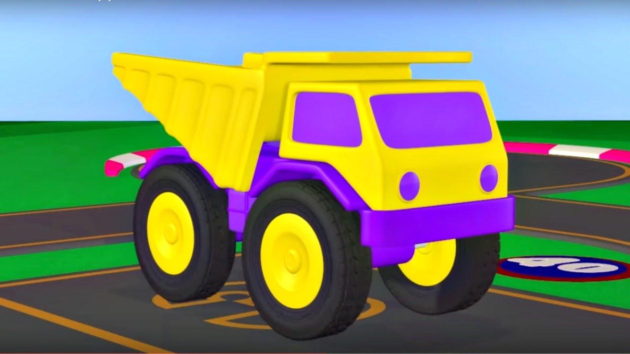 Zeem Zoom – Eğitici çizgi film – Damperli kamyon – Türkçe izle