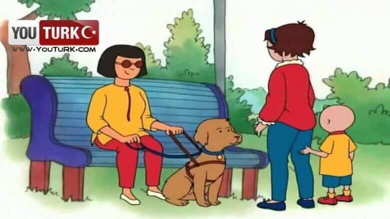 Caillou Türkce – Özel bir Köpek
