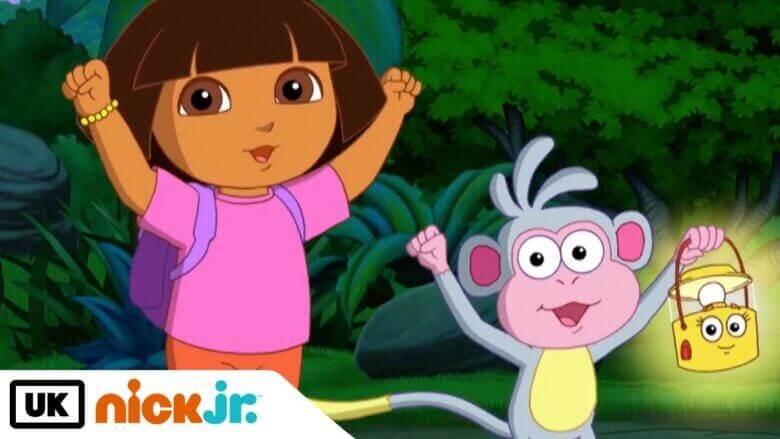 Çizgi film Dora Türkçe jenerik