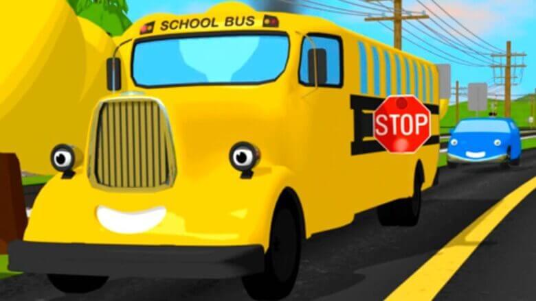 Çizgi film – Tren Shawn bize trafik işaretlerini öğretiyor