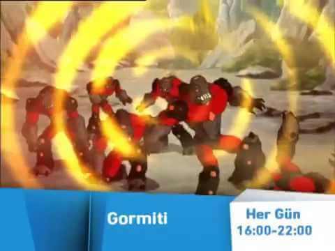 Gormiti Çizgi Film İzle Türkçe