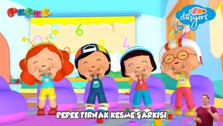 Pepee – Tırnak Kesme Şarkısı