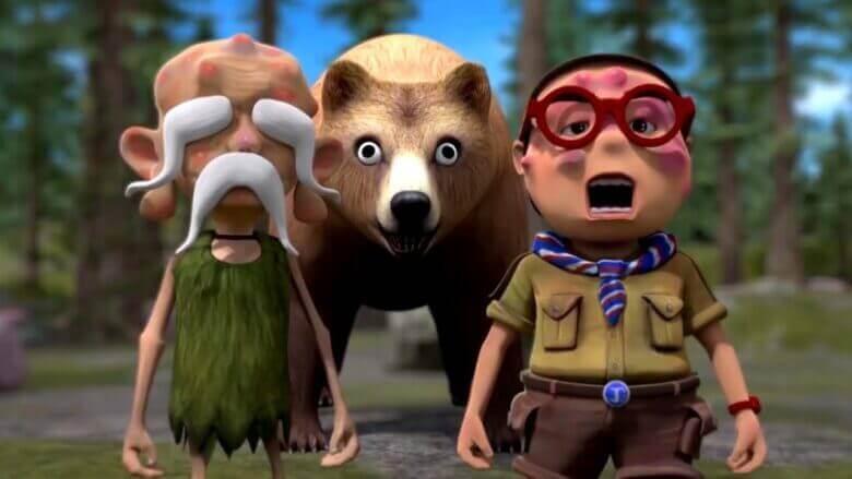 Oko ve Lele ⭐ Yeni 🦖Hayvanlar 🐺 Komik Çizgi Filmler 🔥 Super Toons TV Animasyon